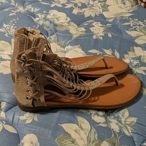 Gladiator Ankle High Sandals
